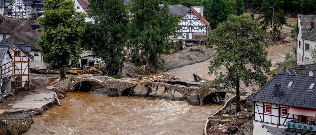 Γερμανία - Πλημμύρες: Εφιαλτικός ο απολογισμός