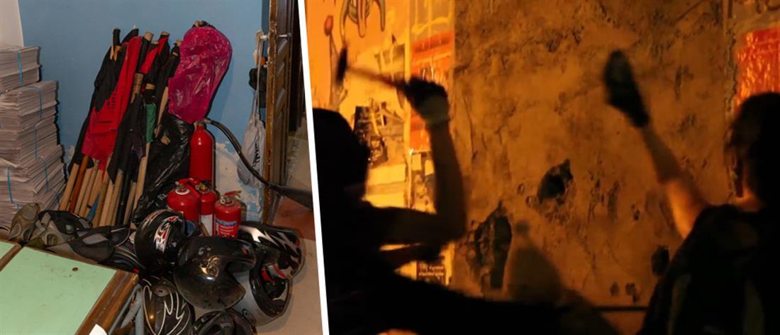 Επιχείρηση ανακατάληψης κτηρίου που εκκενώθηκε την περασμένη εβδομάδα (βίντεο)