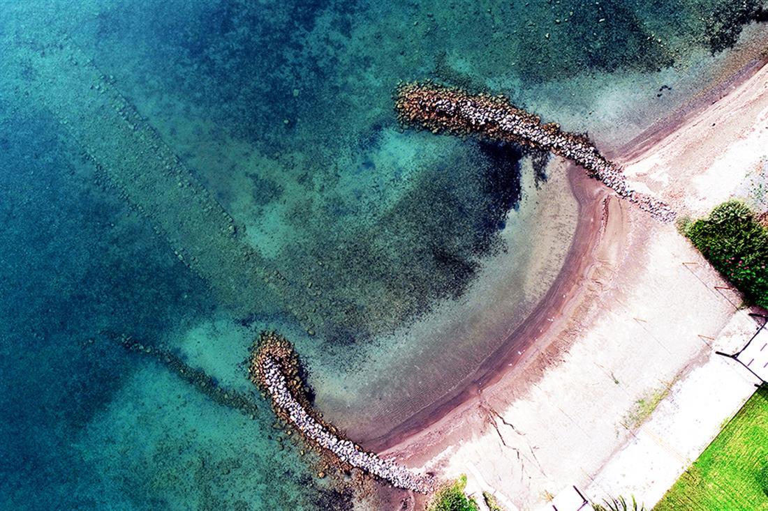 Υποβρύχια έρευνα - αρχαίος Ολούντας