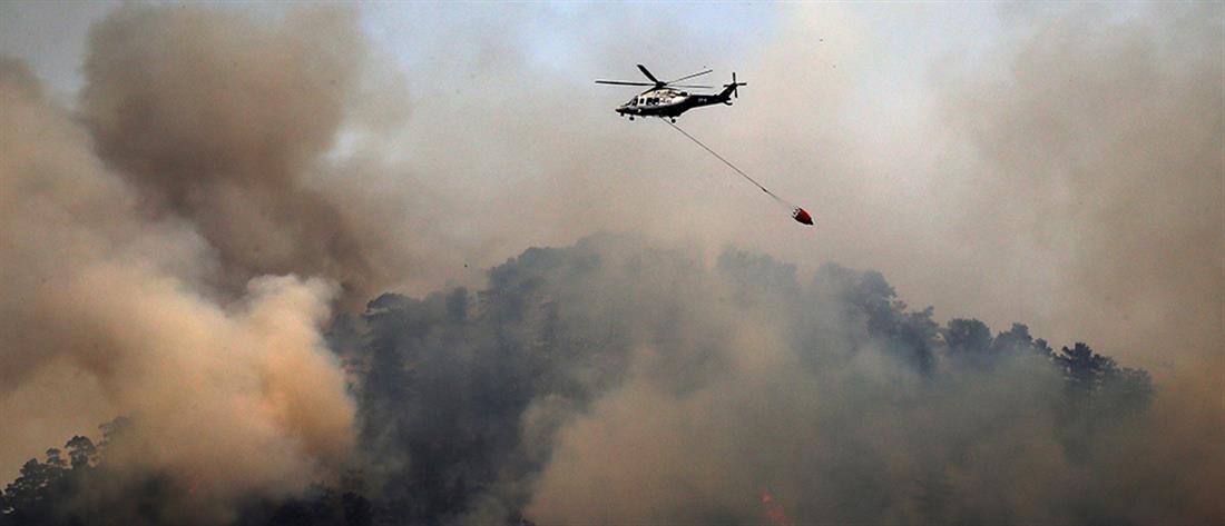 Μεγάλη φωτιά στην Κύπρο - Εκκενώνεται χωριό