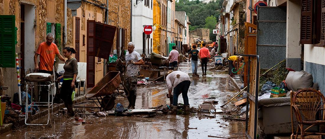 Ένα πεντάχρονο αγοράκι το τελευταίο θύμα των φονικών πλημμυρών στη Μαγιόρκα