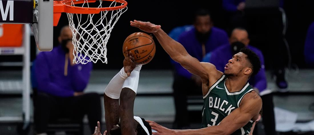 Bucks - Lakers - Αντετοκουνμπο