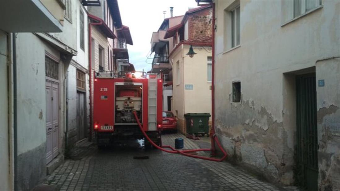 Πυρκαγιά - Νάουσα