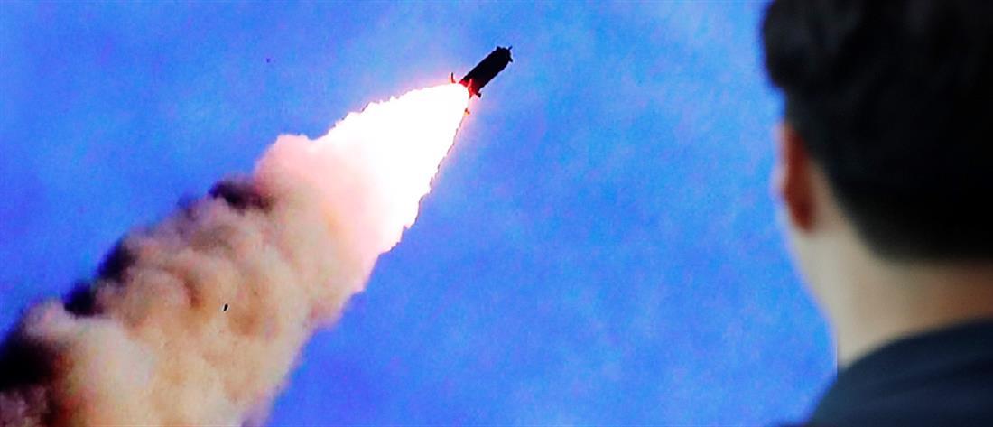 Βόρεια Κορέα: νέα εκτόξευση βαλλιστικών πυραύλων