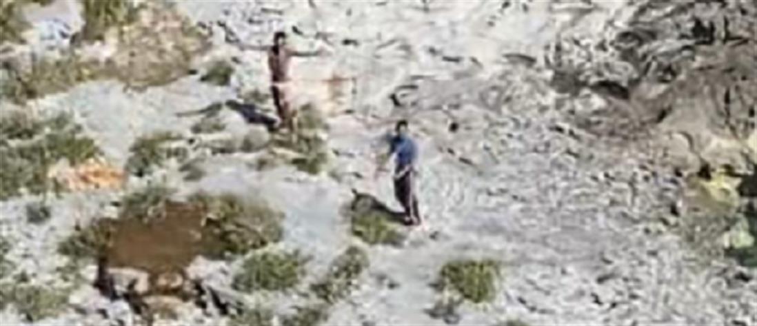 Ναυαγοί επέζησαν τρώγοντας αρουραίους - κινηματογραφική η διάσωσή τους (βίντεο)