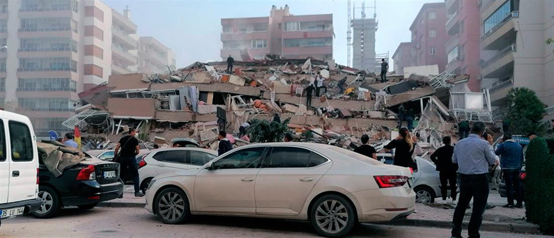 AP - Σμύρνη - σεισμός