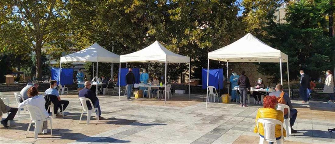 Κορονοϊός - Σέρρες: Δεκάδες κρούσματα μετά από rapid test