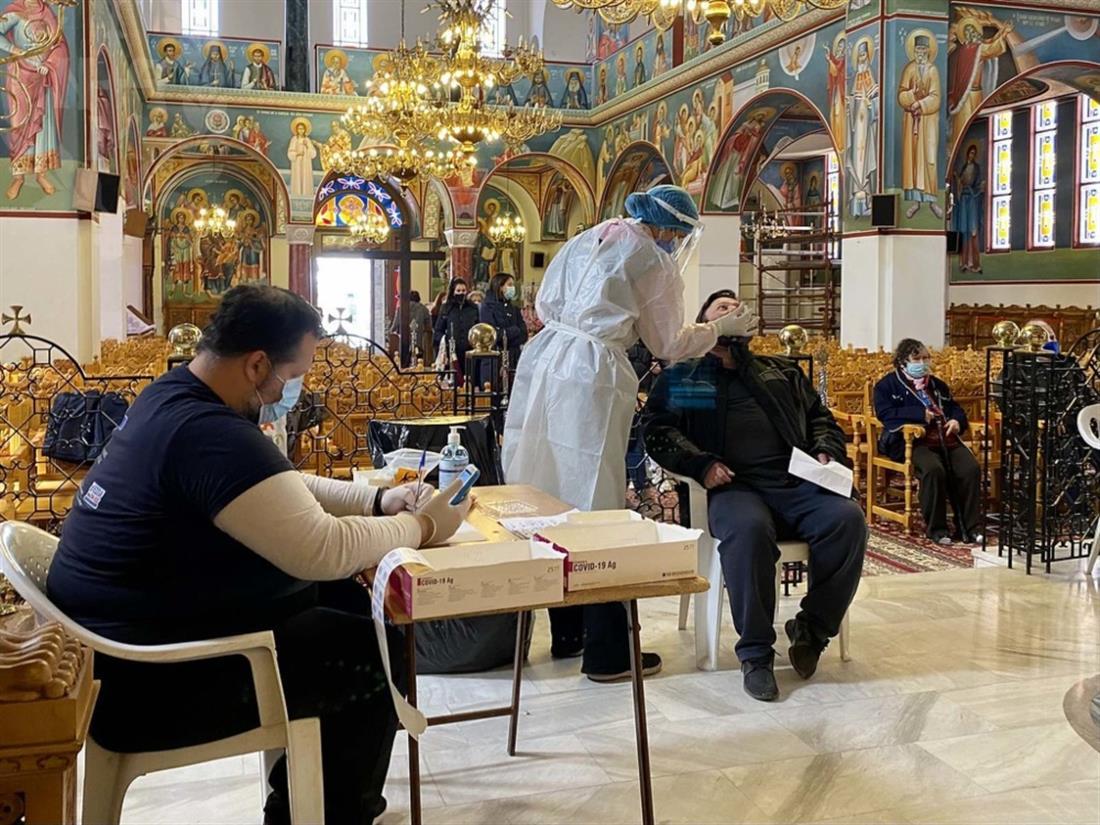 Κορονοιος-Test-Ιερός-Ναός-Αγίας-Παρασκευής-Μενεμένη