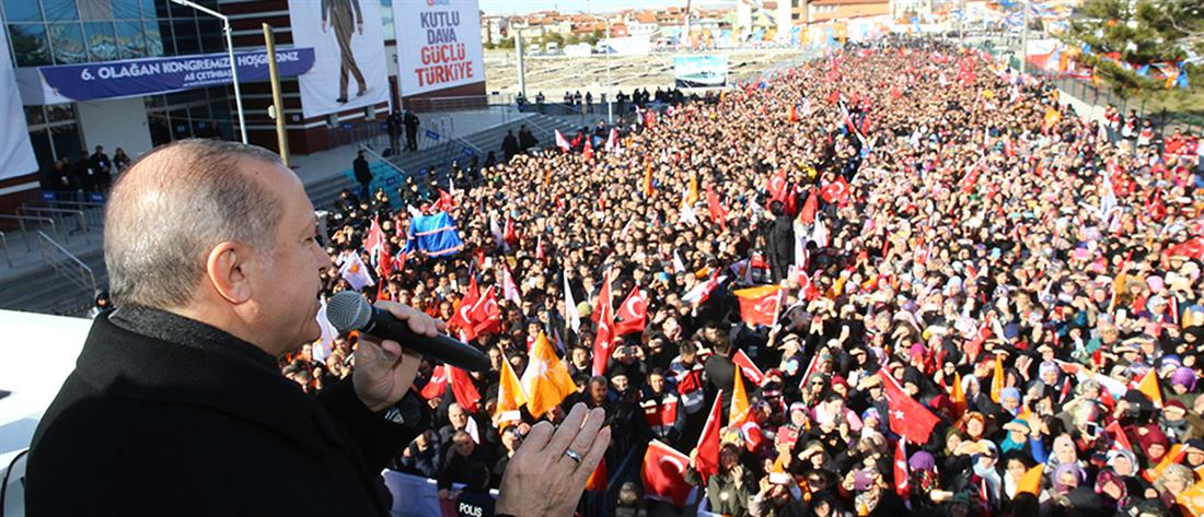 O Ερντογάν ανακοίνωσε τουρκική εισβολή στην Συρία (βίντεο)