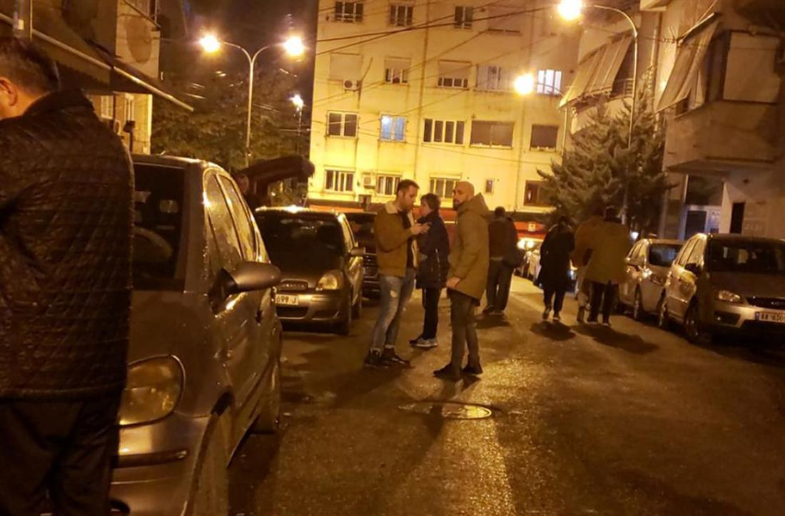 Αλβανία - σεισμός - Δυρράχιο