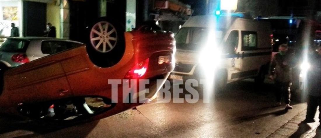 Αναποδογύρισε αυτοκίνητο εν κινήσει - Παιδί προσπάθησε να ανοίξει την πόρτα (εικόνες)