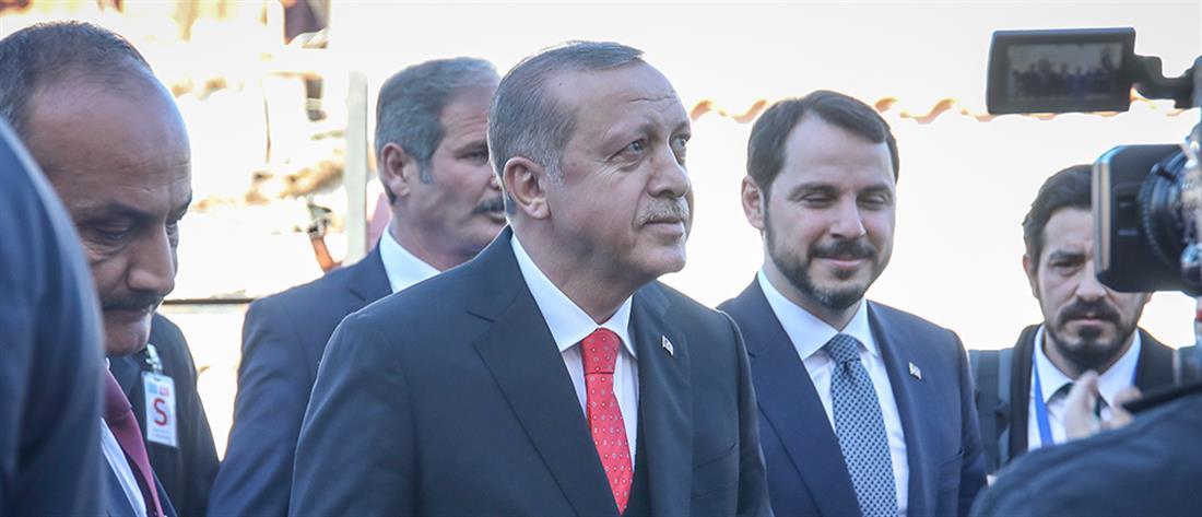 Θερμή υποδοχή αλλά και αντιδράσεις για τον Ερντογάν στη Θράκη