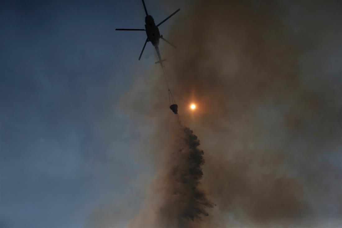 Φωτιά - Πυρκαγιά - Εύβοια -Μακρυμάλλη