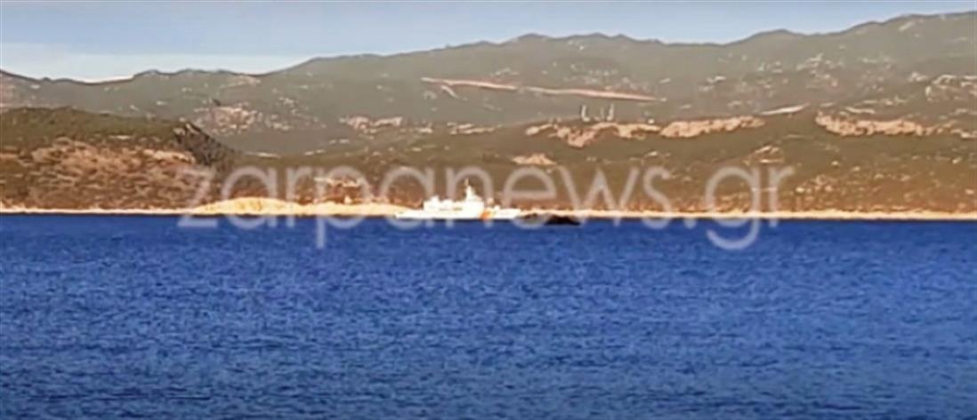 Καστελόριζο: Πρόκληση των Τούρκων με ακταιωρό (βίντεο)
