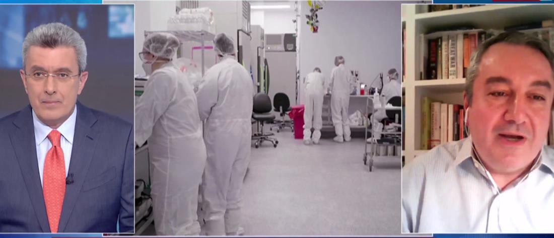 Μόσιαλος στον ΑΝΤ1: θα κάνω και τη δεύτερη δόση του AstraZeneca (βίντεο)