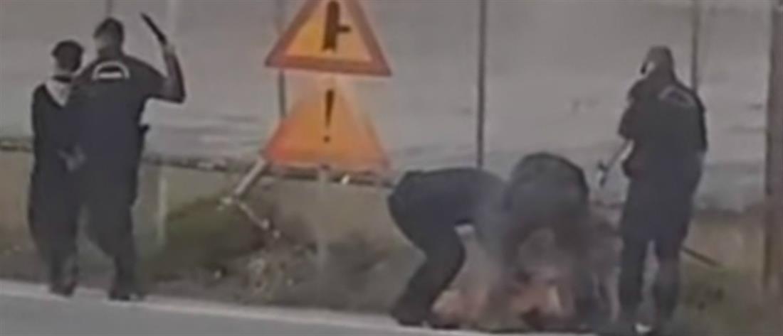 Επίθεση αστυνομικών σε πρόσφυγες (βίντεο-ντοκουμέντο)