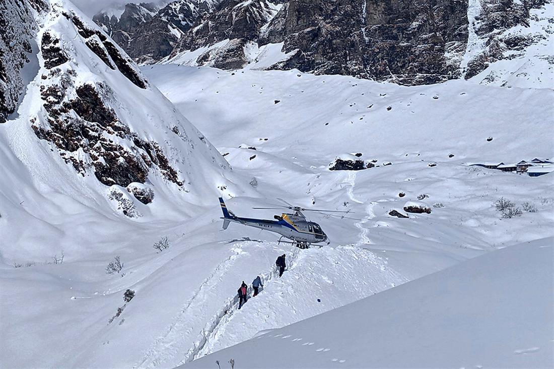 AP - Χιονοστιβάδα - Νεπάλ