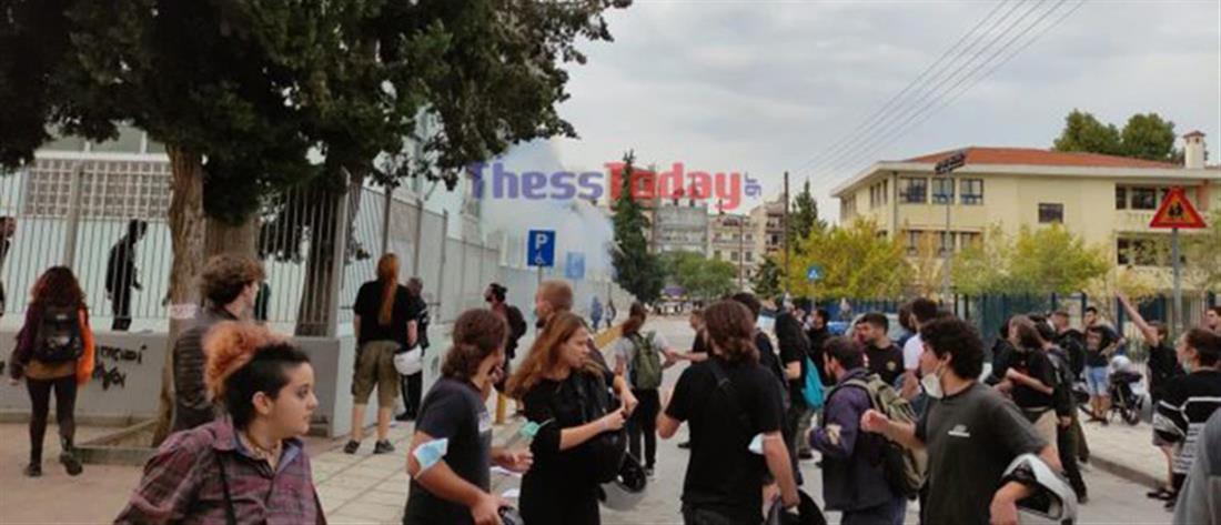 Χρυσή Αυγή για επεισόδια στο ΕΠΑΛ Σταυρούπολης: Συγχαρητήρια στους μαθητές