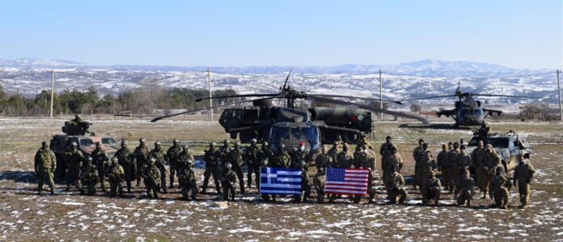 Εντυπωσιακές εικόνες από τη συνεκπαίδευση ενόπλων δυνάμεων Ελλάδας - ΗΠΑ (βίντεο)