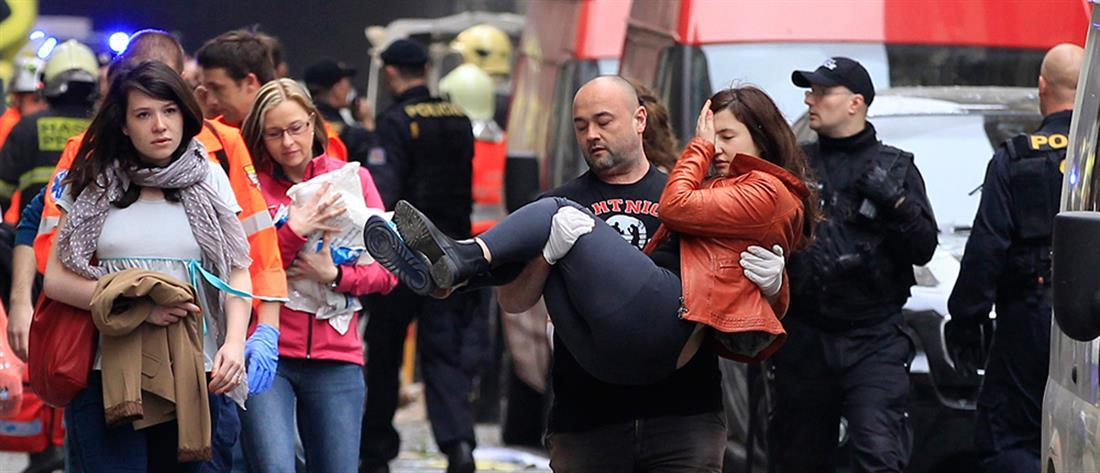 Τσεχία: Επεισόδια, τραυματίες και συλλήψεις σε διαδήλωση κατά των περιοριστικών μέτρων