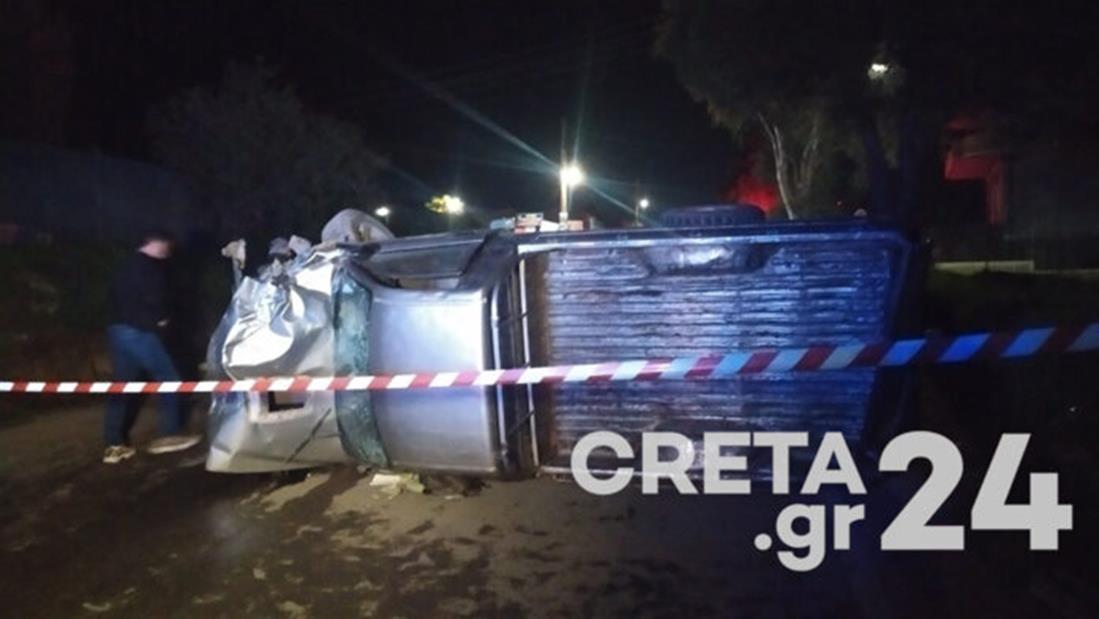 Τροχαίο δυστύχημα - 37χρονη - 3χρονη - Μοίρες - Κρήτη