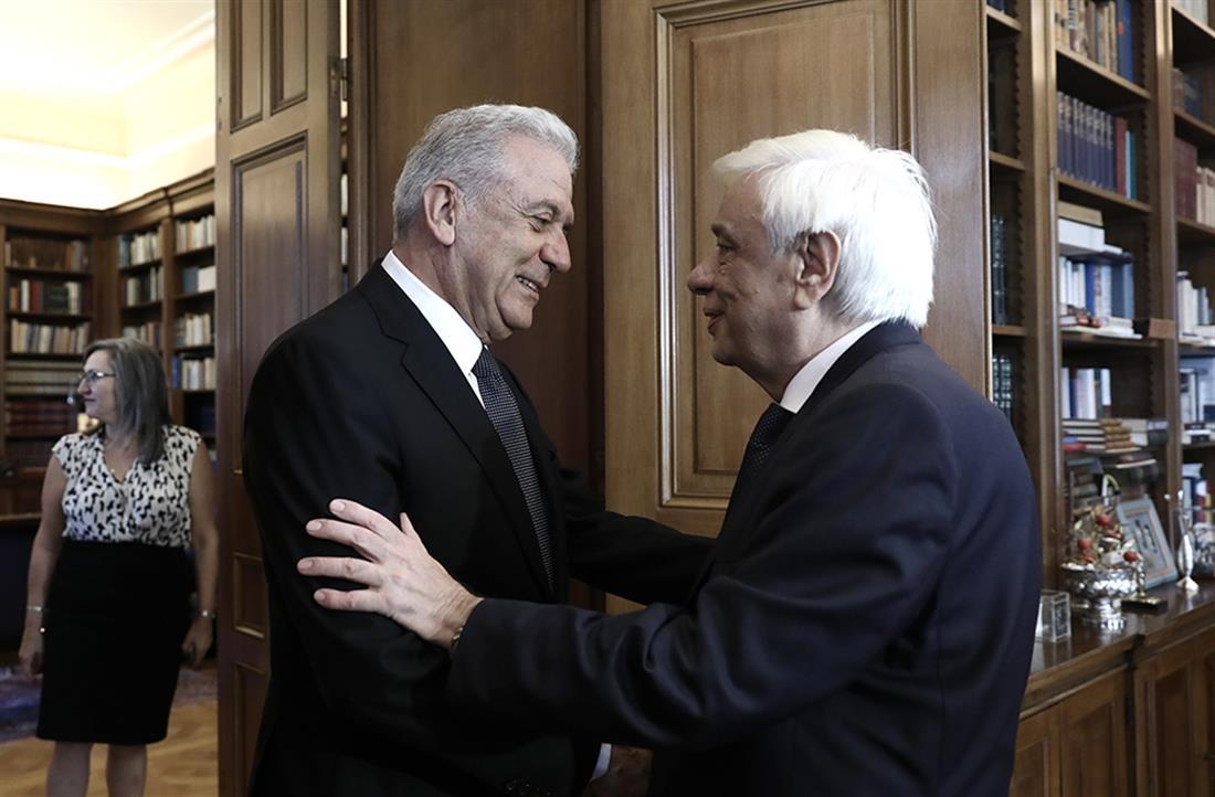 Παυλόπουλος - Αβραμόπουλος - Προεδρικό Μέγαρο