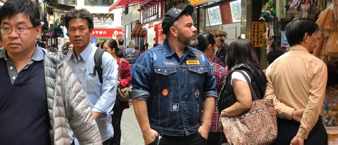 """StrEAT Food"": Που ταξιδεύει ο Βασίλης Καλλίδης στα τελευταία επεισόδια (εικόνες)"