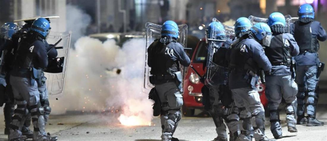Επεισόδια στο Τορίνο μετά την εκκένωση κατάληψης (εικόνες)