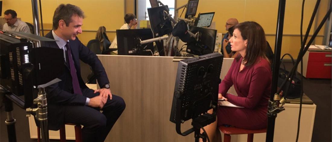 Μητσοτάκης στο CNN: Η ΝΔ μπορεί να βγάλει την Ελλάδα από την κρίση