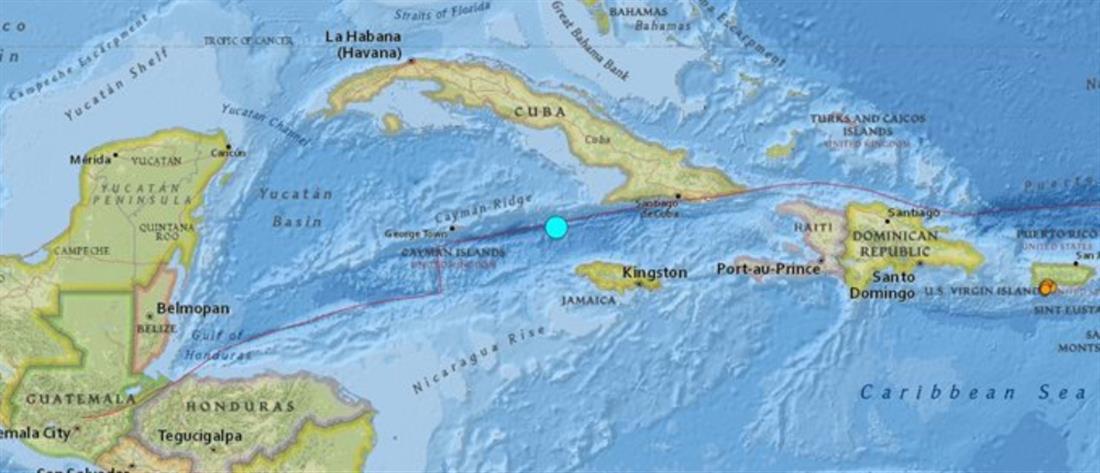 Πολύ ισχυρός σεισμός στην Καραϊβική