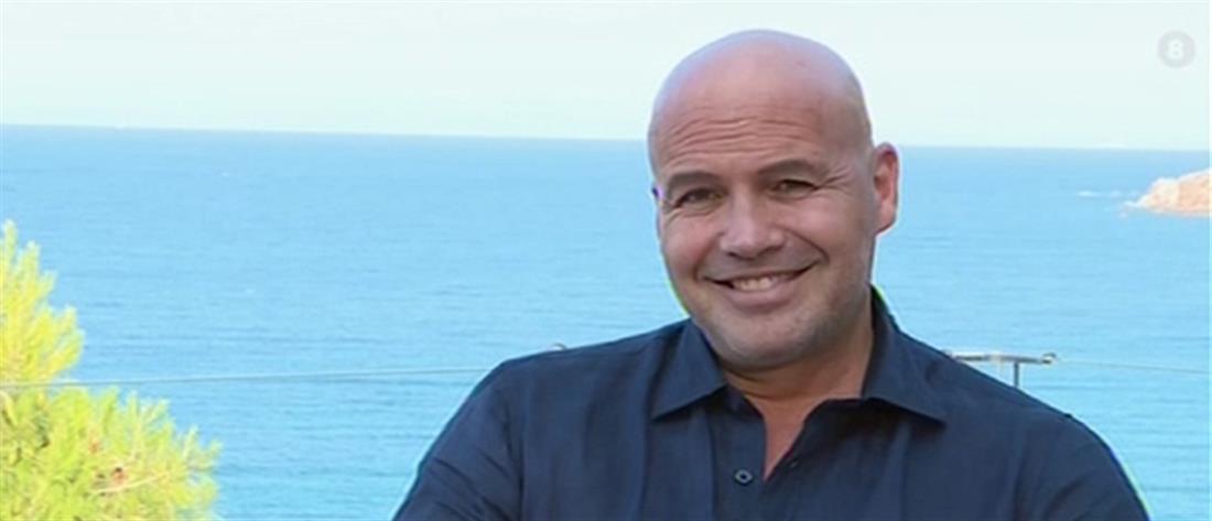 Ο Μπίλι Ζέιν στον ΑΝΤ1 για την Ελλάδα, την οικογένεια του και τα... γεμιστά (βίντεο)