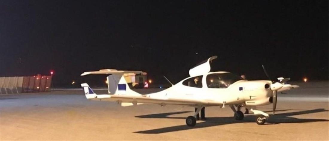Αναγκαστική προσγείωση εκπαιδευτικού αεροσκάφους στη Μυτιλήνη