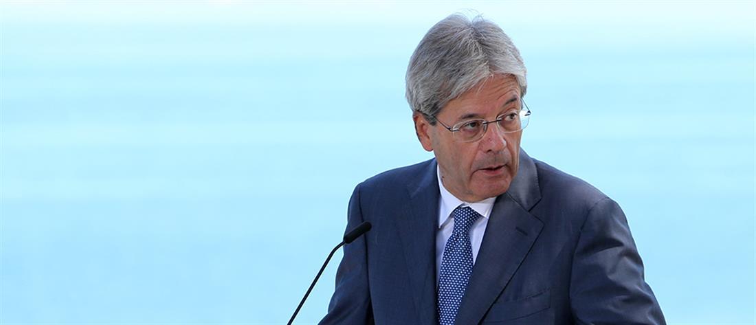 Τζεντιλόνι: η ελληνική οικονομία βρίσκεται σε σωστό δρόμο, παρά τα πλήγματα