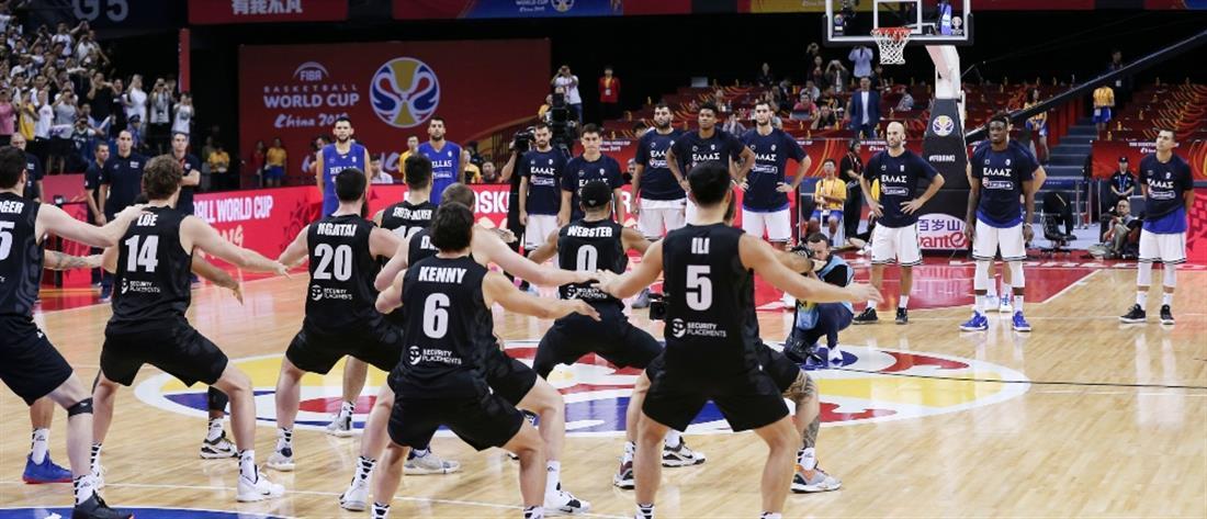 """Νέα Ζηλανδία: Ο χορός """"χάκα"""" πριν τον αγώνα με την Ελλάδα (βίντεο)"""