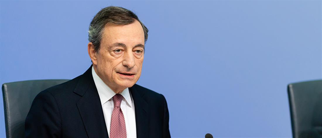 Ντράγκι: στο QE η Ελλάδα αν συνεχίσει την πρόοδο στις μεταρρυθμίσεις