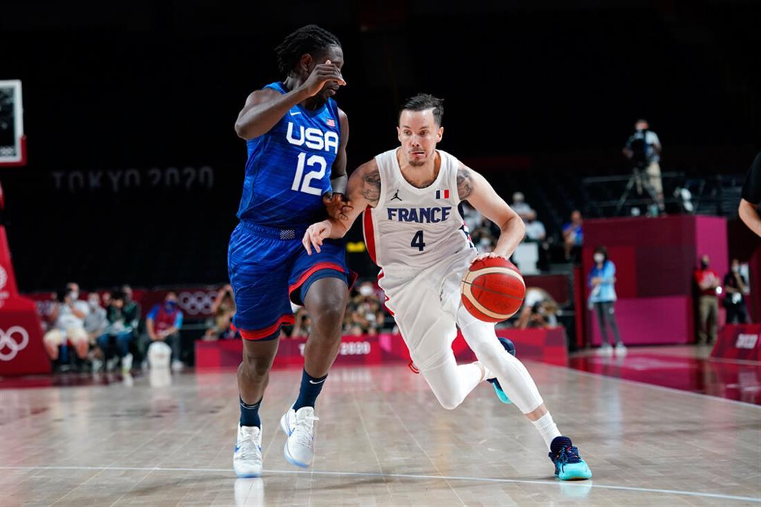 Μπάσκετ - Ολυμπιακοί Αγώνες - Γαλλία - ΗΠΑ