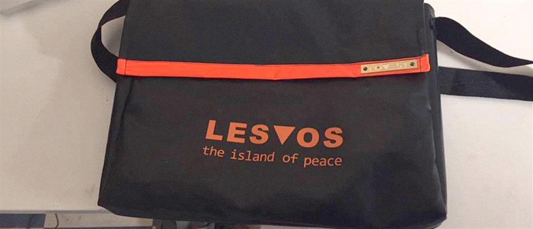 Έκαναν τα σωσίβια των μεταναστών... διαφημιστικές τσάντες (φωτό)