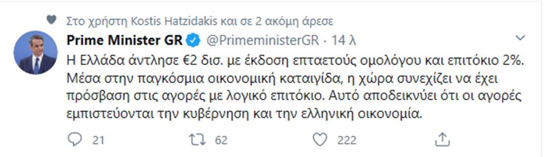ΜΗΤΣΟΤΑΚΗΣ - TWITTER
