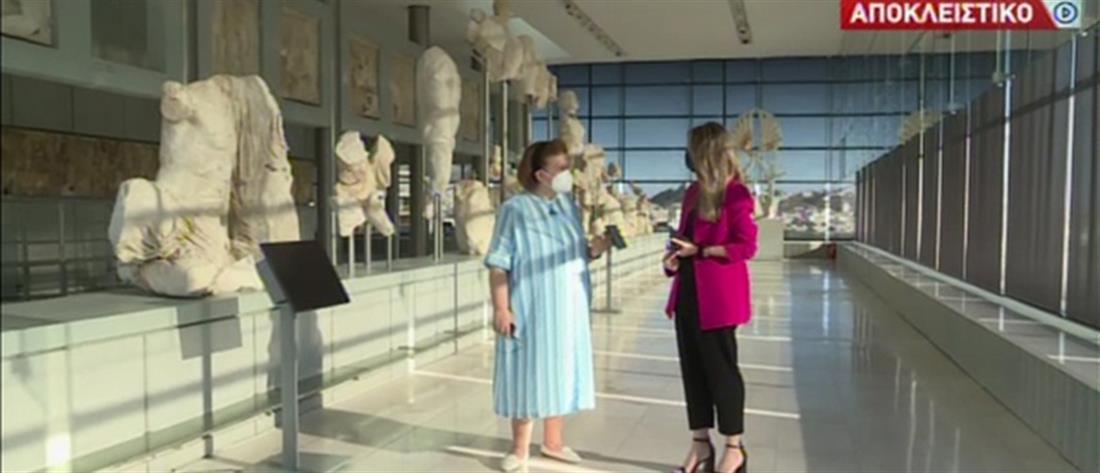 Μουσείο Ακρόπολης: αυτοψία του ΑΝΤ1 πριν επιστρέψουν οι επισκέπτες (βίντεο)