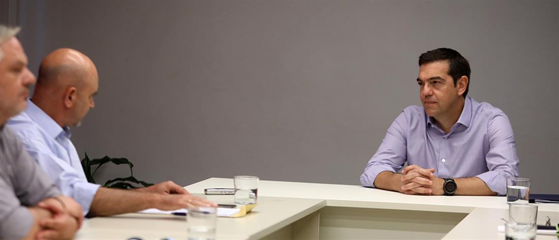"""Τσίπρας: """"όχι"""" στην ιδιωτικοποίηση της ΕΥΔΑΠ"""