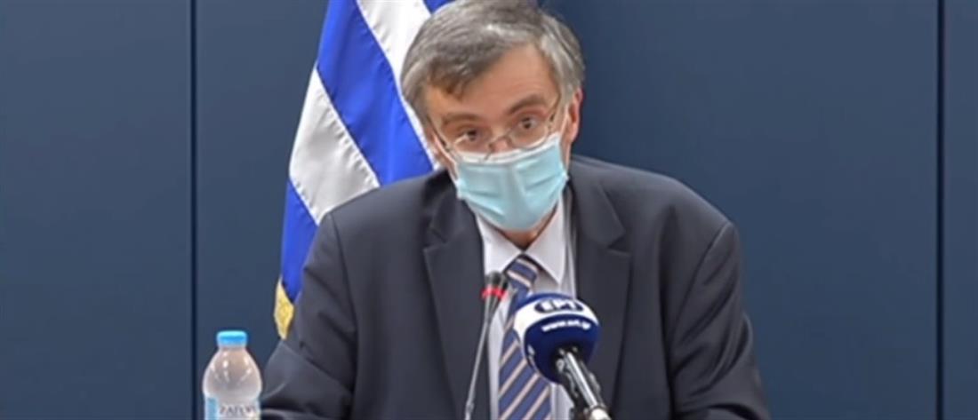 Κορονοϊός - Τσιόδρας: Επαγρύπνηση για τυχόν επιθετική αύξηση των κρουσμάτων