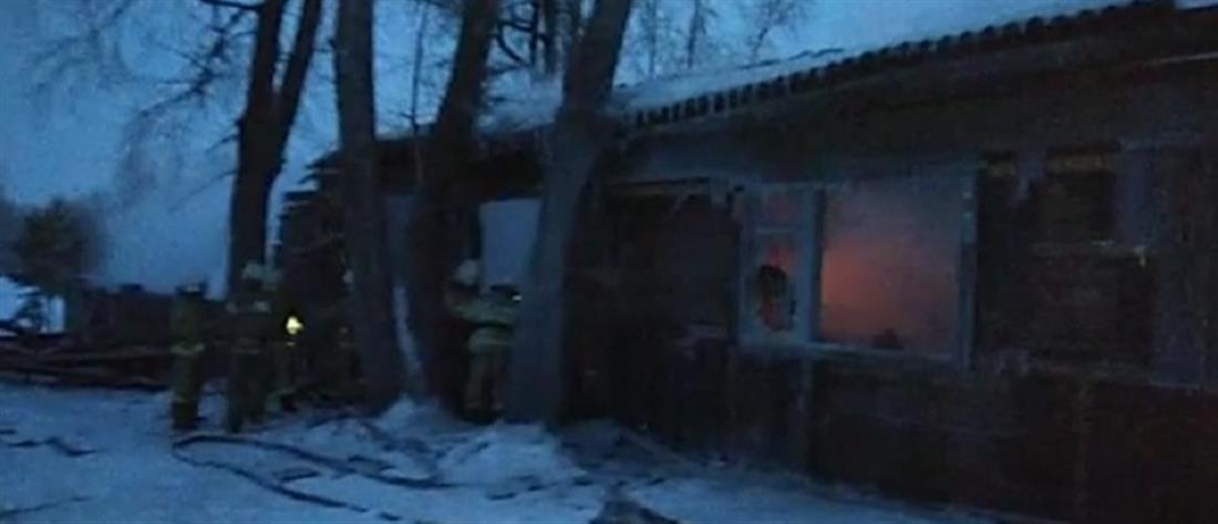 Εργάτες κάηκαν ζωντανοί σε ξύλινο σπιτάκι (εικόνες)