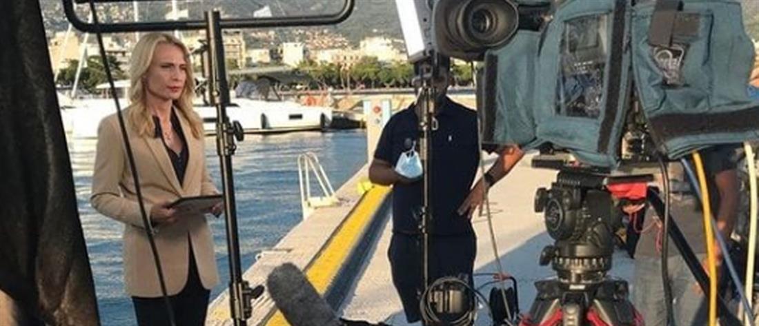 ΑΝΤ1: bacκstage από το μεγάλο ενημερωτικό ταξίδι στην Ελλάδα  (βίντεο)