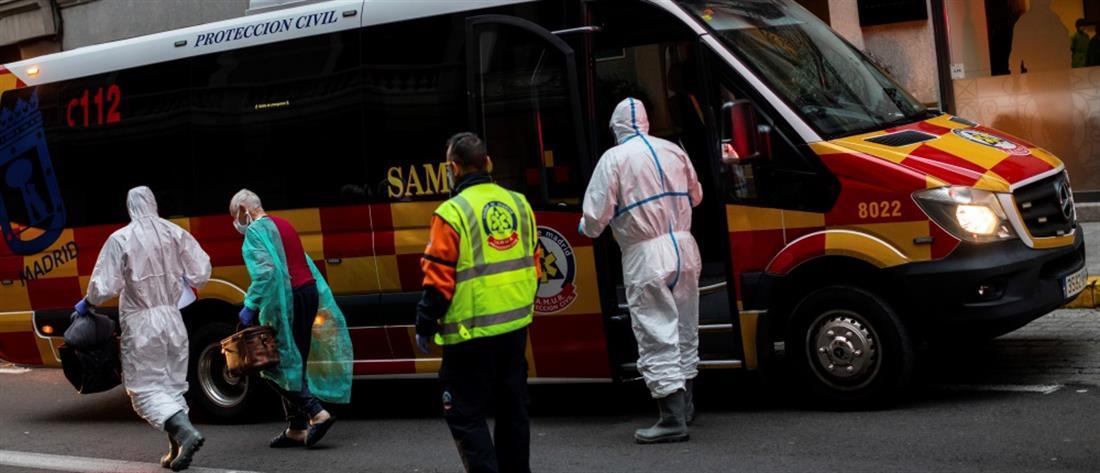 Ισπανία: Επίθεση σε ασθενοφόρα που μετέφεραν ασθενείς με κορονοϊό