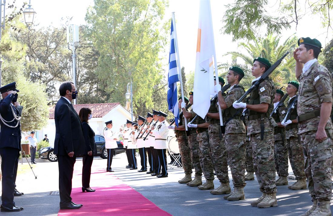 Σακελλαροπούλου - Αναστασιάδης - Κύπρος