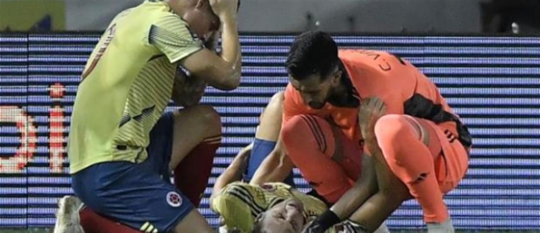 Σοκαριστικός τραυματισμός ποδοσφαιριστή (βίντεο)