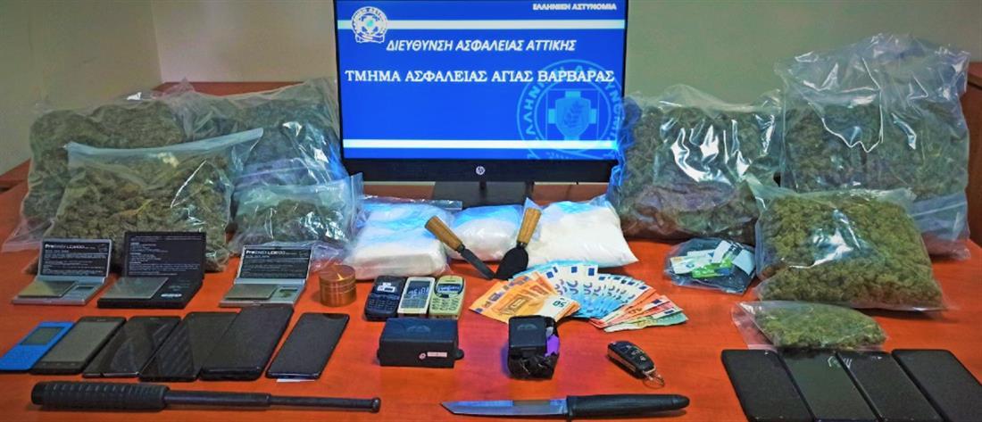 Διακίνηση ναρκωτικών: Εξαρθρώθηκαν δύο εγκληματικές ομάδες (εικόνες)