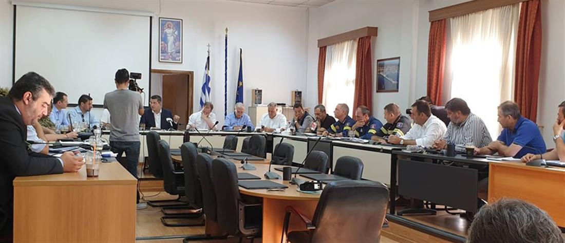Επίσπευση διαδικασιών για άμεση αποκατάσταση της ηλεκτροδότησης στη Χαλκιδική