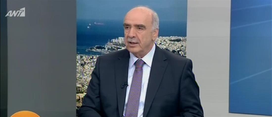 Βαγγέλης Μεϊμαράκης στον ΑΝΤ1: Βρίσκομαι στο ευρωψηφοδέλτιο της ΝΔ για να εκφράσουμε την αλλαγή (βίντεο)