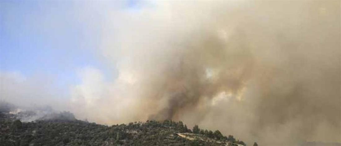 ΙΣΑ: οδηγίες προς τις ευπαθείς ομάδες για τους καπνούς από τις φωτιές